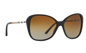 bd634d47927f In Stock. Frame  Black. Lens  Polarised graduated brown. Sunglasses.  Burberry BE4235Q