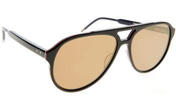 a08011fc0c07 Due In 5-7 Days. Frame: Black. Lens: Dark brown gold mirror. Sunglasses. Thom  Browne TB-408. Only £422.65 ...