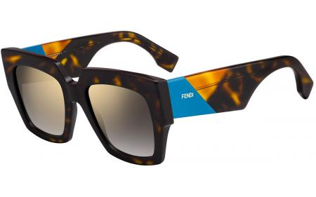 c697ec40fe2 Fendi Facets FF0151 S 807 Sunglasses - Free Shipping