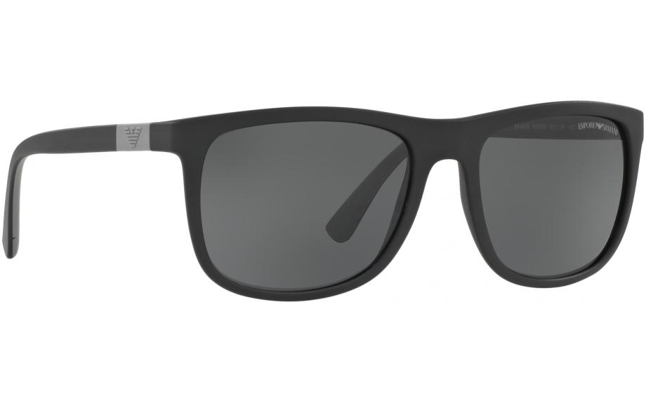 Emporio Armani EA4079 504287 57 Sunglasses - Free Shipping   Shade Station f9a947c49e