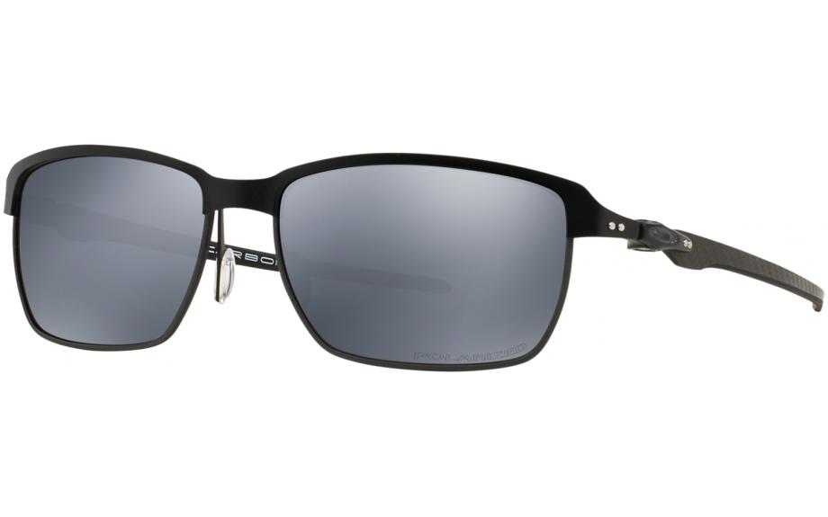Oakley Sonnenbrille Tinfoil Carbon, Satin Black/Steel, One Size, OO6018-02