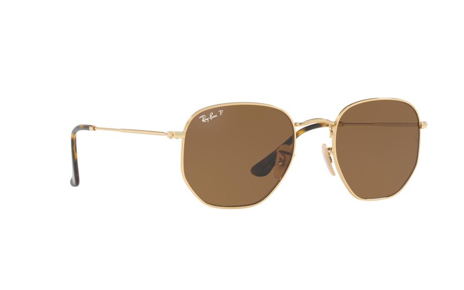 f45a219ce1d Ray-Ban Hexagonal RB3548N 001 57 51 Sunglasses - Free Shipping ...