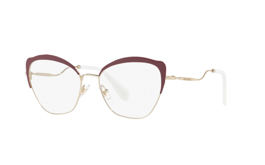 bc6df63f3a4 Miu Miu MU 54PV UA51O1 54 Glasses - Free Shipping