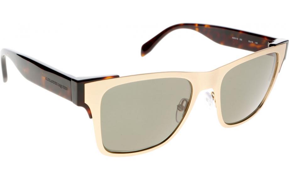 84cc18e9d915 Alexander McQueen AM0011S 002 53 Sunglasses - Free Shipping