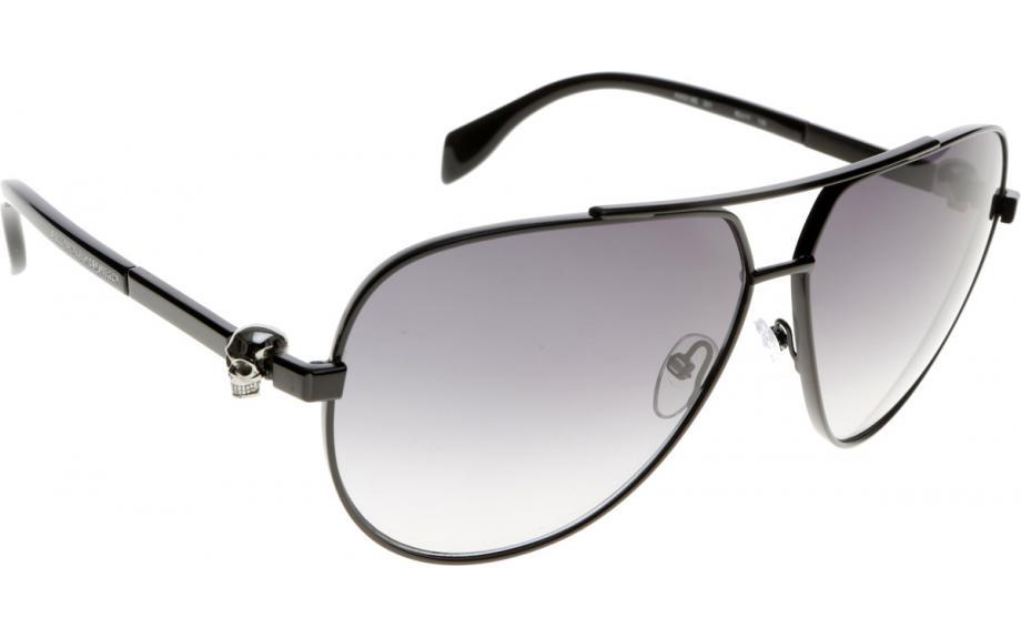8d5c781ff963 Alexander McQueen AM0018S 001 63 Sunglasses - Free Shipping