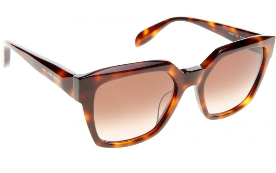 c5c4ee5db8ad Alexander McQueen AM0042S 002 54 Sunglasses - Free Shipping