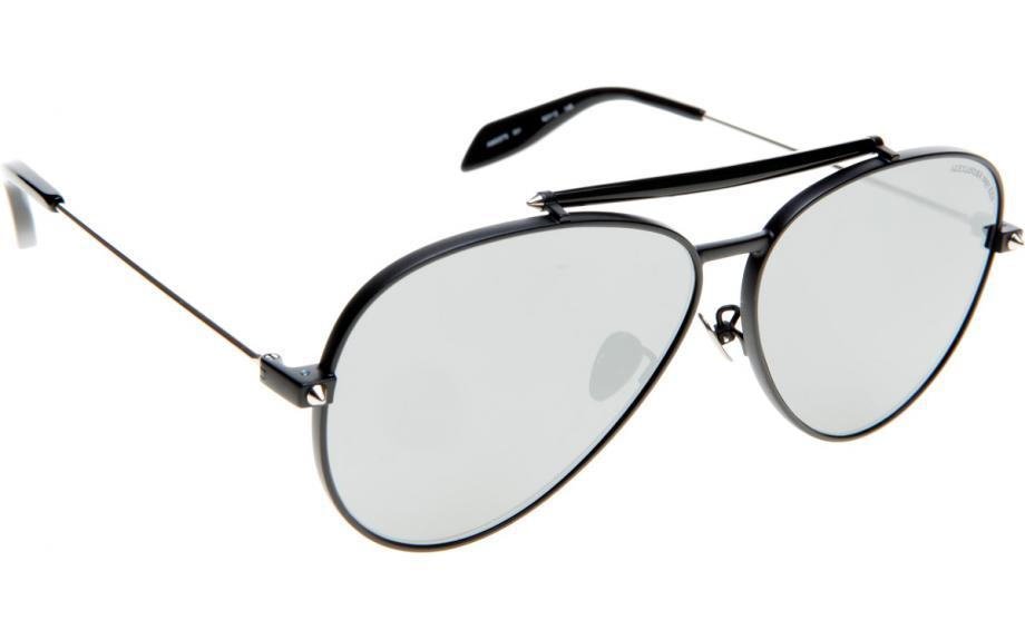 53fd04b96d7 Alexander McQueen AM0057S 001 62 Sunglasses - Free Shipping