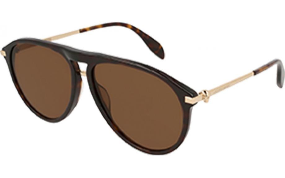 deb77a08f848 Alexander McQueen AM0134S 002 60 Sunglasses - Free Shipping