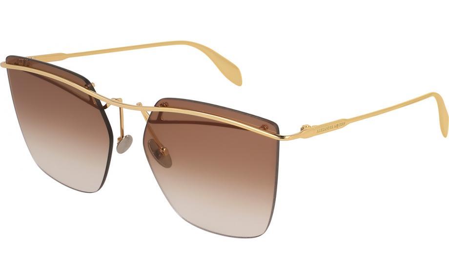 927a7e2041e7 Alexander McQueen AM0144S 001 59 Sunglasses - Free Shipping