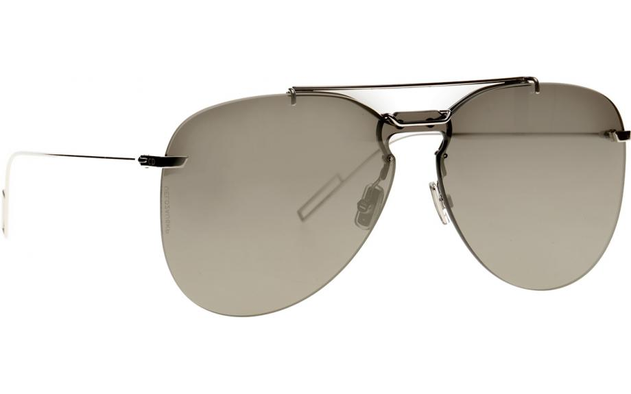 6ef3d4b519e1 Dior Homme DIOR 0222S 010 0T 99 Sunglasses - Free Shipping | Shade Station