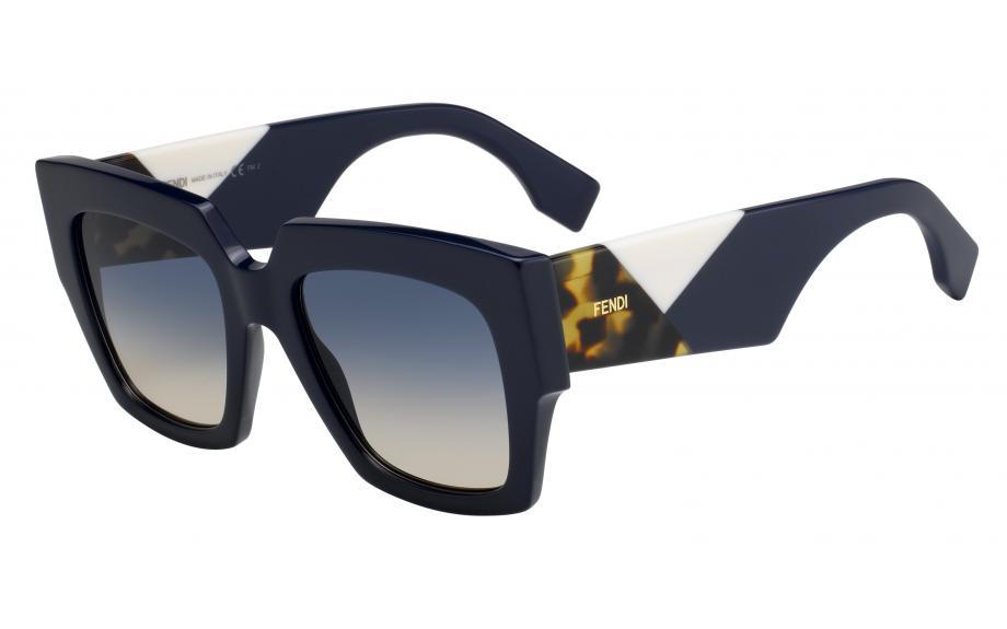 70a973ed05 Fendi Facets FF0263 S PJP 52 I4 Sunglasses - Free Shipping