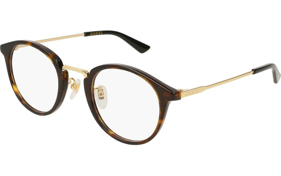 d3ccf4efcde0 Gucci GG0322O 002 49 Glasses - Free Shipping | Shade Station