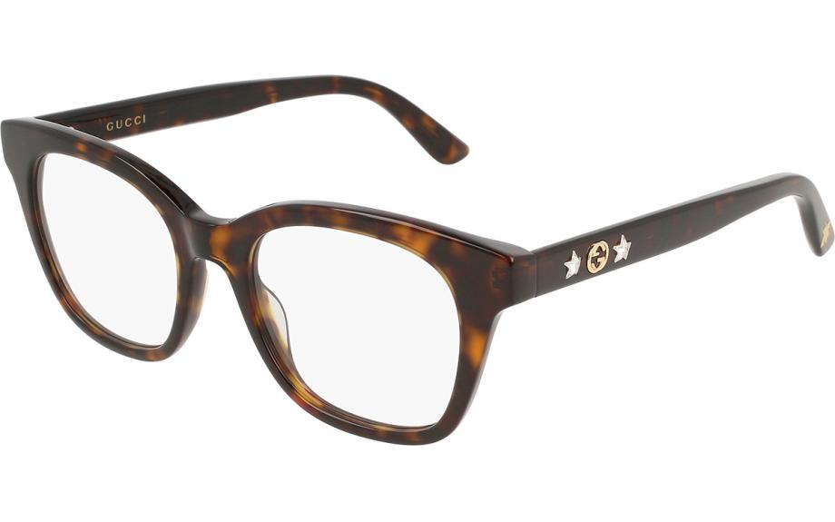 7845369c6486 Gucci GG0349O 002 49 Glasses - Free Shipping | Shade Station