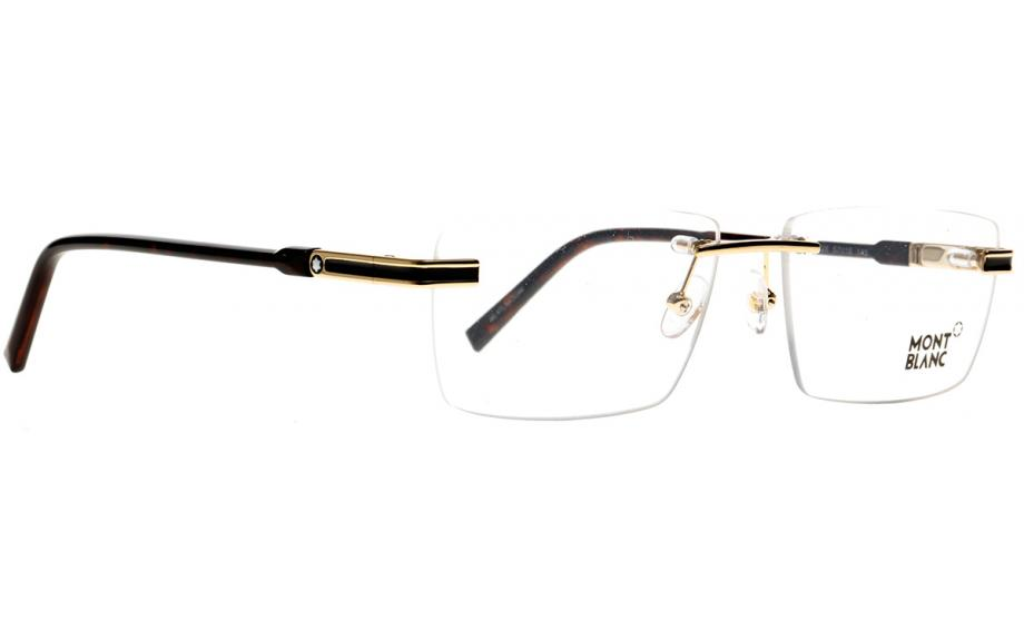 80ad1c9253 Mont Blanc MB0692 V 028 57 Glasses - Free Shipping