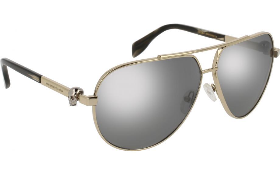 b20e31fe3271 Alexander McQueen AM0018S 005 63 Sunglasses - Free Shipping