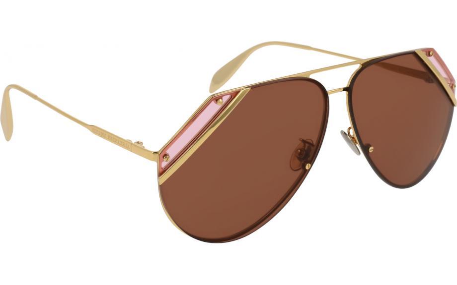 922e1035fd63 Alexander McQueen AM0092S 005 65 Sunglasses - Free Shipping