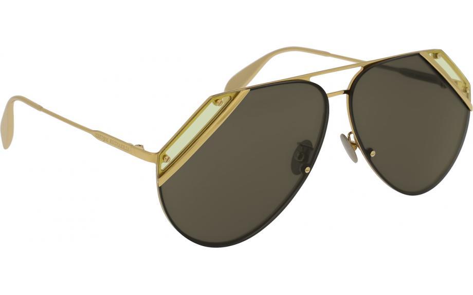 dba0da96bc3 Alexander McQueen AM0092S 007 65 Sunglasses - Free Shipping