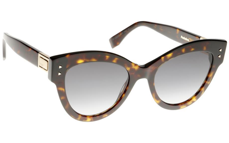 a94f1bcbe4 Fendi Peekaboo FF0266 S 086 52 90 Sunglasses - Free Shipping
